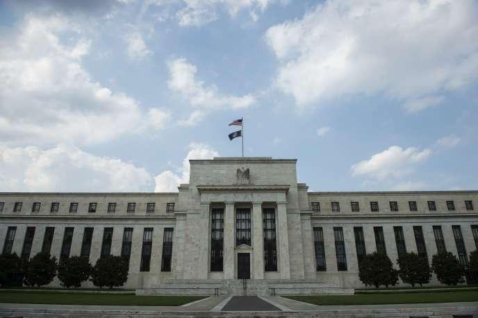 La Réserve Fédérale américaine à Washington, le 14 juin 2017.