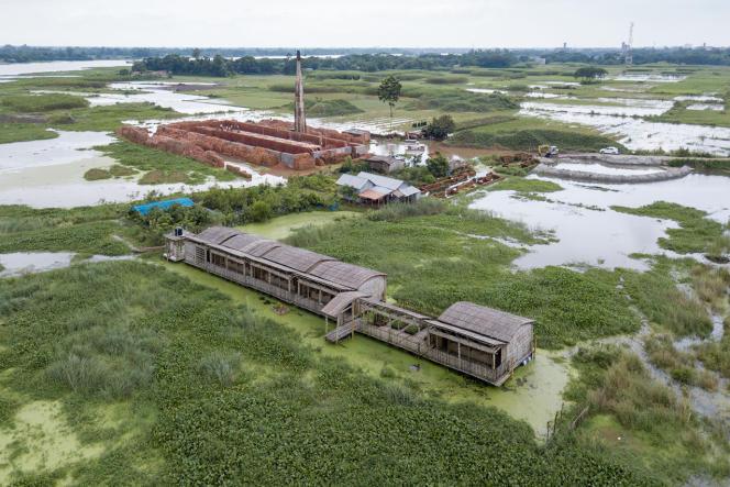Arcadia School Alipur, à Keraniganj. Architecte : Saif Ul Haque Sthapati.