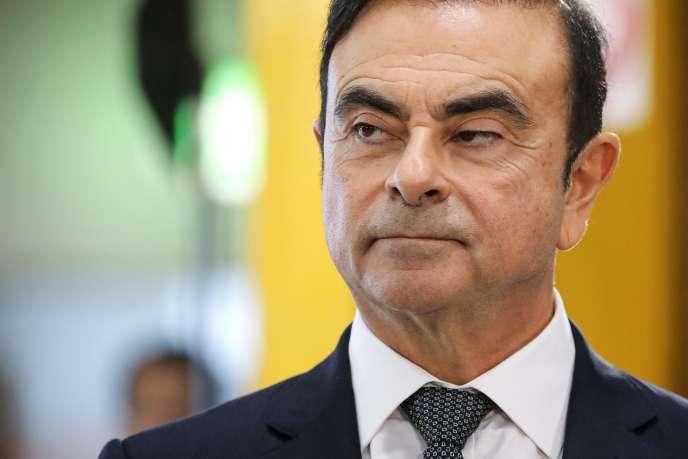 Carlos Ghosn, le 8 novembre 2018.