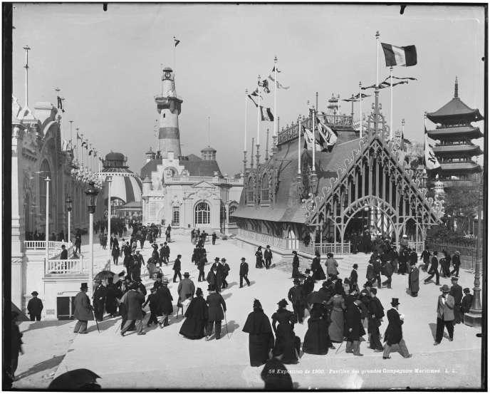 Exposition universelle de Paris, en 1900