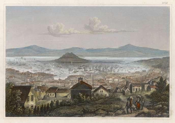 San Francisco, vers 1850.