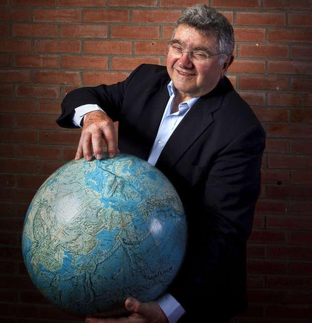 Claude Allègre à l'Institut de physique du Globe à Paris en 2010.