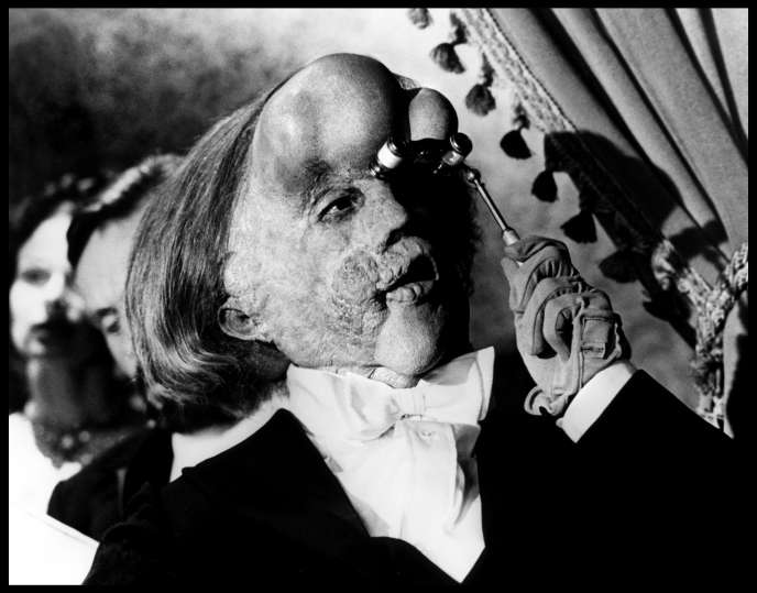 John Hurt dans « Elephant Man » (1981), de David Lynch.