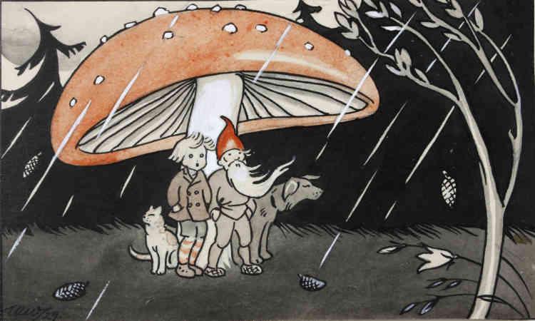«Le personnage de Jukka-Pekka, entouré du Lutin savant, de la chatte Mirri et du chien Musti, est une ravissante invention de l'auteur pour l'enfance Aili Somersalo, auquel Martta Wendelin donna ses traits. Les parutions de ces petites histoires illustrées dans les numéros de Noël des magazines pour la jeunesse étaient infiniment appréciées des enfants finlandais. Présentées en traduction française pour la première fois, ces histoires donnent accès au monde nordique de l'enfance.»