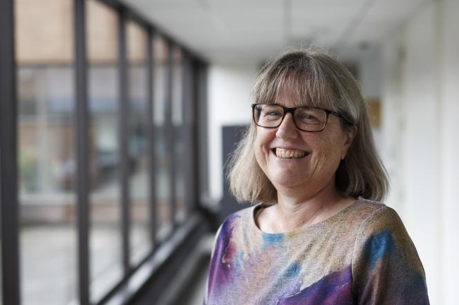 Donna Strickland, corécipiendaire du Nobel de physique 2018.