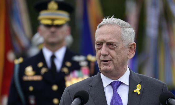 Le secrétaire à la défense, Jim Mattis, en septembre, à Washington.
