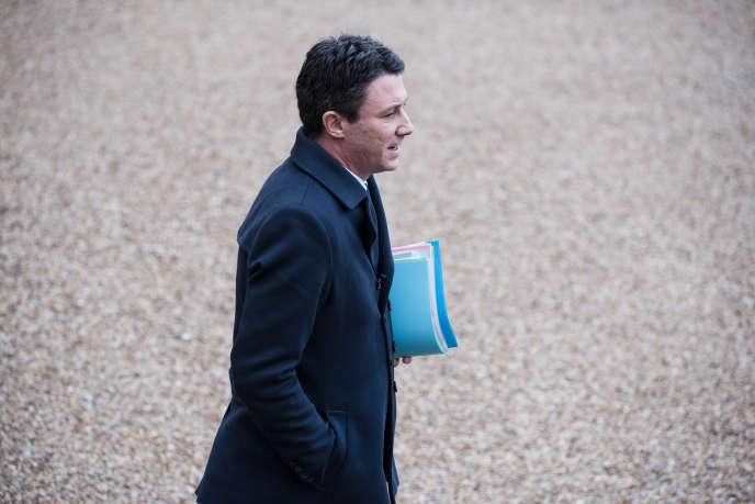 Le porte parole du gouvernement, Benjamin Griveaux, le 19décembre.