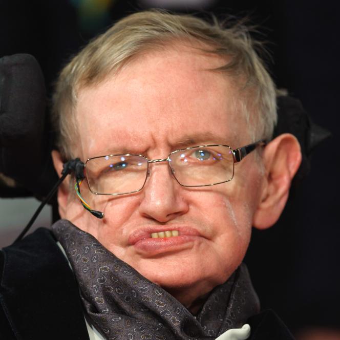 Le cosmologiste Stephen Hawking (1942-2018).