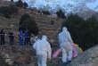 Cette capture d'écranmontre le lieu où ont été trouvés les corps des deux touristes scandinaves, le 18 décembre 2018, près d'Imlil (Maroc).