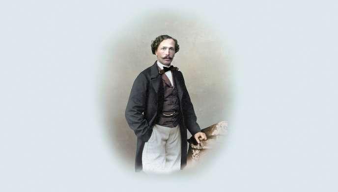 Le danseur, chorégraphe et maître de ballet français Marius Petipa (1818-1910).