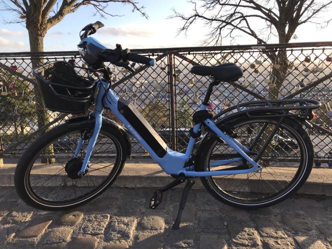 Le nouveau vélo à assistance électrique Véligo.