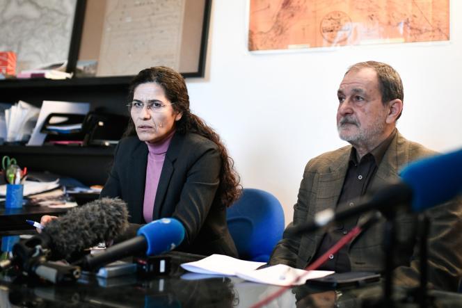 Ilhan Ahmed,une des principales responsables politiques kurdes de Syrie, le 21 décembre à Paris.