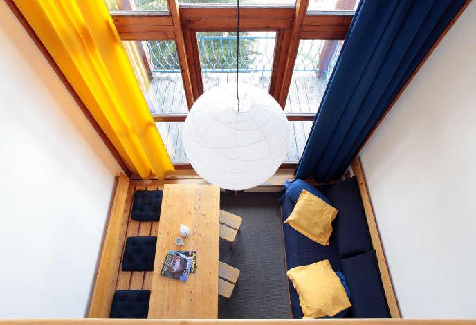 Les Arcs, intérieur conçu par Charlotte Perriand.