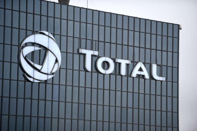 Le siège de Total à la Défense, en janvier 2018.