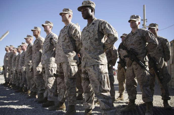 Les troupes américaines en Afghanistan, en janvier.