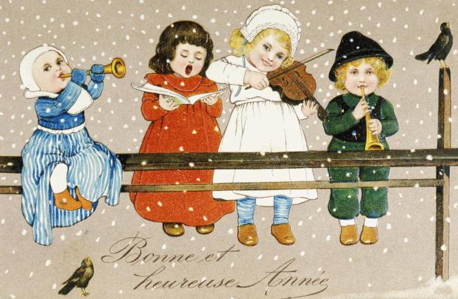 Dans la nuit de la Saint-Sylvestre, et jusqu'à la fin janvier, des milliards de bons vœux s'échangent.