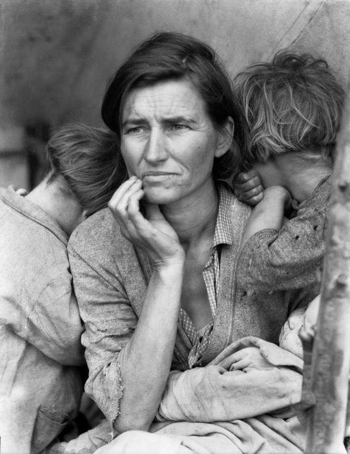 «Migrant Mother, Nipomo, California» (1936), de Dorothea Lange.