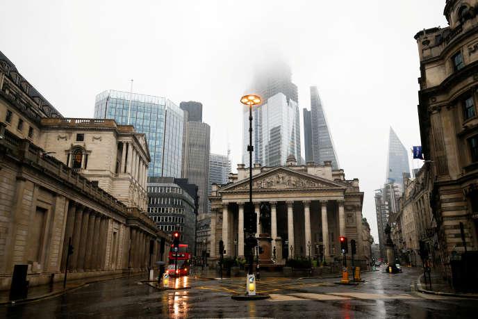 Siège de la Banque d'Angleterre à Londres.