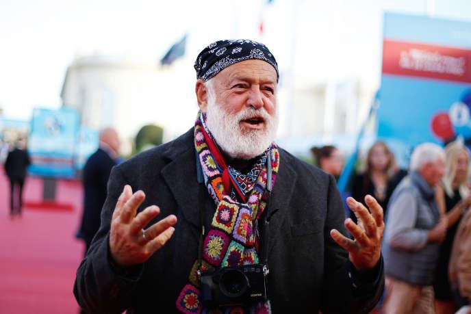 Le photographe américain Bruce Weber au 44e Festival de Deauville (France), le 6septembre2018.