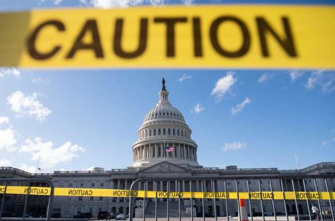 Depuis minuit, en raison du «shutdown», un quart des fonctionnaires fédéraux ne sont plus payés.