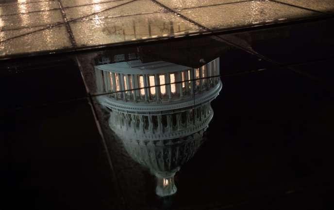 Le shutdownaura bien lieu dans la mesure où aucun accord n'a été trouvé entre la Maison Blanche et le Congrès au Capitole, à Washington, le 21 décembre.