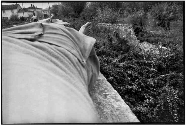 «Autoportrait, près de Sienne, Italie». 1933
