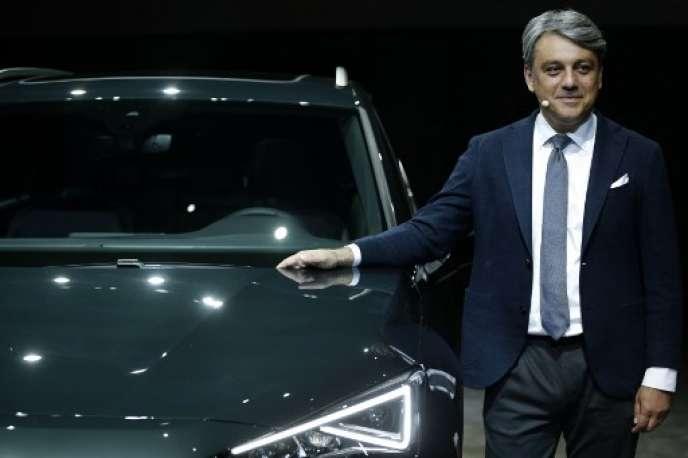 Luca De Meo, président de SEAT, à Tarragone le 18 septembre 2018.