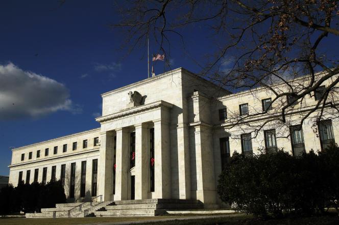 Le bâtiment de la Fed (Banque centrale des Etats-Unis), à Washington, en décembre 2018.