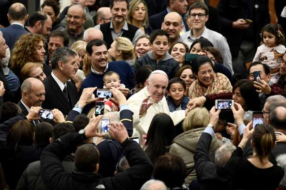 Pape François, 21 decembre 2018 au Vatican