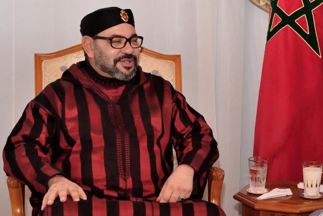 El rey de Marruecos, Mohammed VI, en Rabat, el 3 de diciembre de 2018.