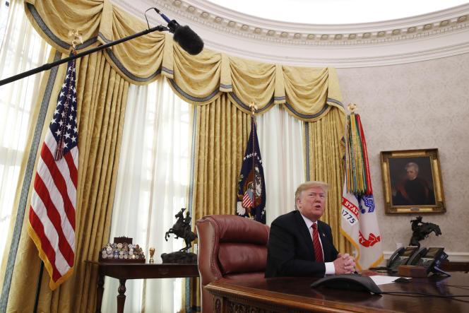 Les discussions au Congrès achoppent sur les 5 milliards de dollars réclamés par Donald Trump pour la construction d'un mur antimigrants à la frontière mexicaine.