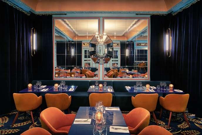 La décoration du restaurant Froufrou a été réalisée par le couturier Alexis Mabille.