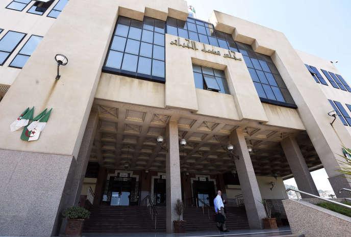 Le palais de justice d'Alger, en 2015.