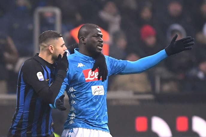 Kalidou Koulibaly, le 26 décembre 2018, lors du match Inter Milan-Naples.