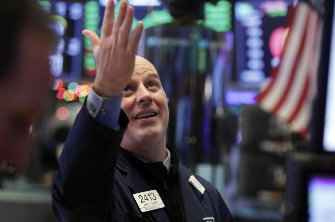 Les indices vedette de la Bourse de New York ont enregistré mercredi leur meilleure performance depuis 2009.