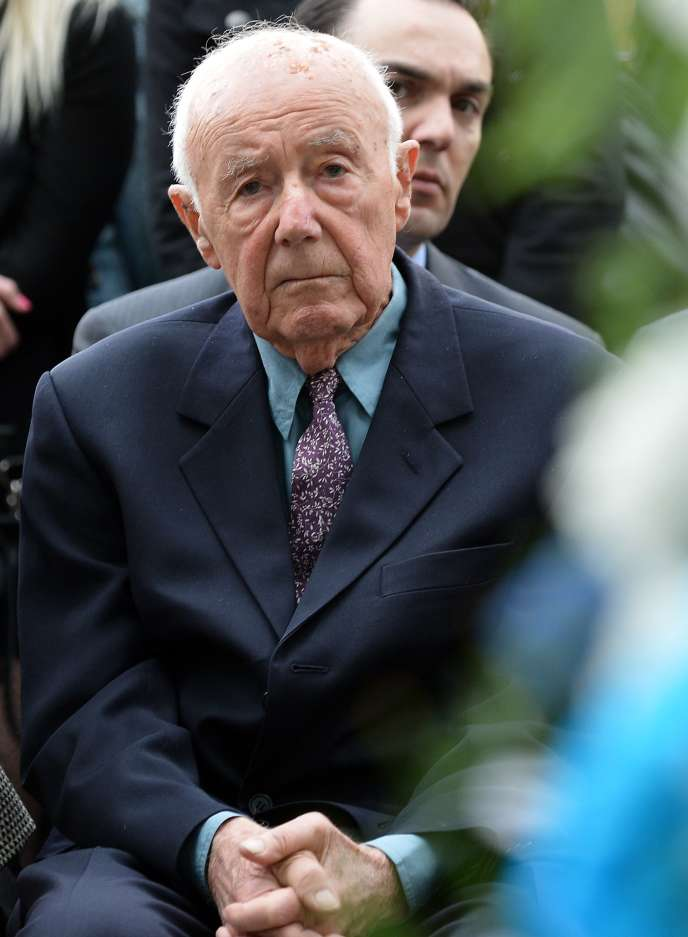 Simcha Rotem, lors d'une commémoration à Varsovie, en avril 2013.
