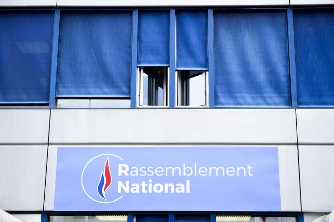Le siège du Rassemblement national, à Nanterre (Hauts-de-Seine).