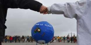 La marche pour le climat à Bordeaux, le 8 décembre 2018.