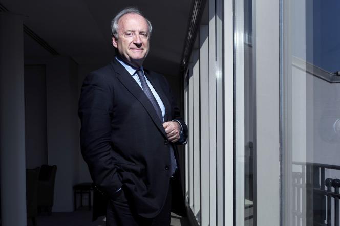 Hubert Védrine, à Paris, le 16 avril 2014.