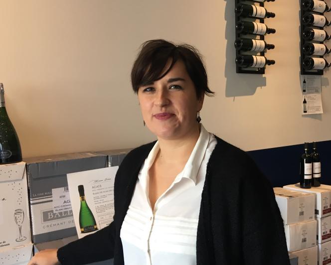 Céline Lannoye, 31 ans, à la tête des crémants de bordeaux Celene.