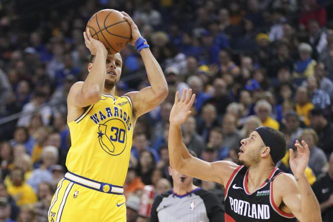 Le tir à trois points coule dans les veines des frères Curry.