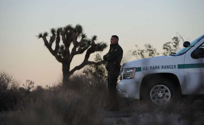Les rangers du parc national Joshua Tree en Californie ont été mis au chômage forcé du fait du «shutdown».