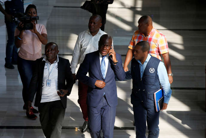 Martin Fayulu, le 28 décembre 2018, à Kinshasa.