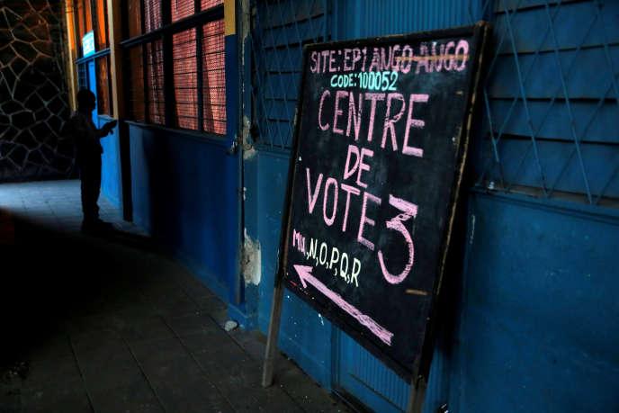 Les électeurs congolais vont choisir entre vingt et un candidats pour succéder à Joseph Kabila, au pouvoir depuis 2001.