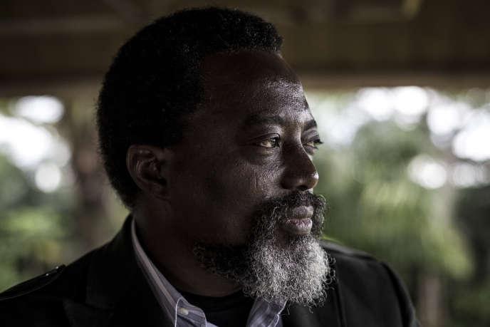 Le président de la République démocratique du Congo, Joseph Kabila, à Kinshasa, le 10 décembre.