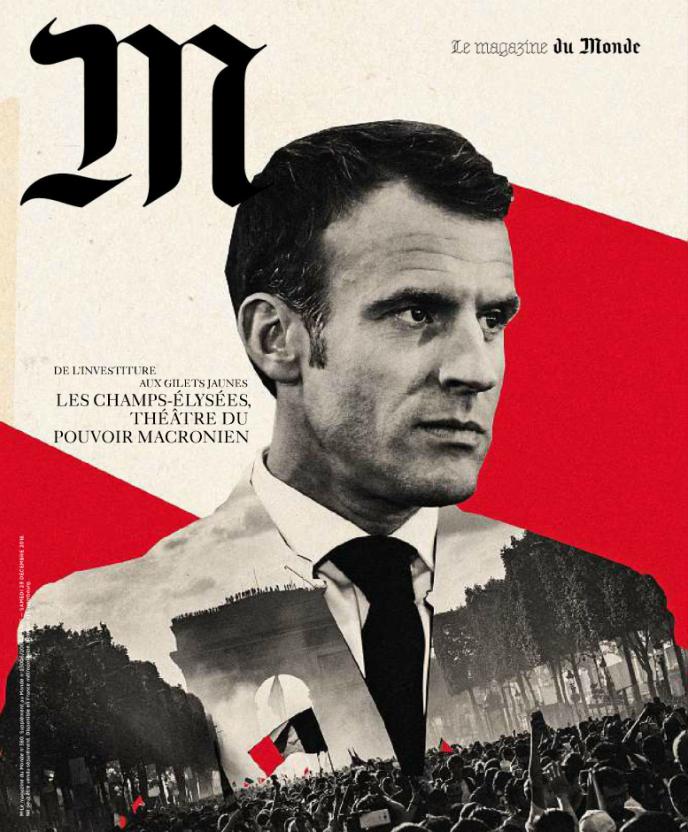 La couverture de l'édition datée du 29 décembre de M, le magazine du Monde.