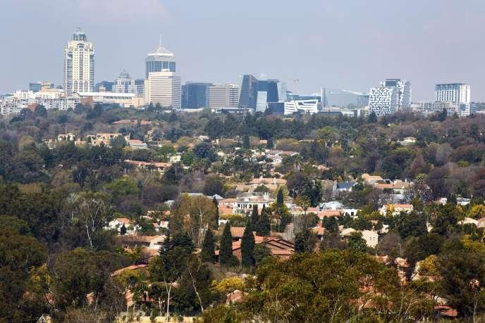 Le parc Delta, à Johannesburg.