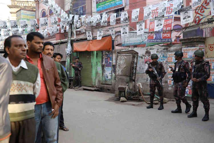 A Dacca, le 30 décembre.