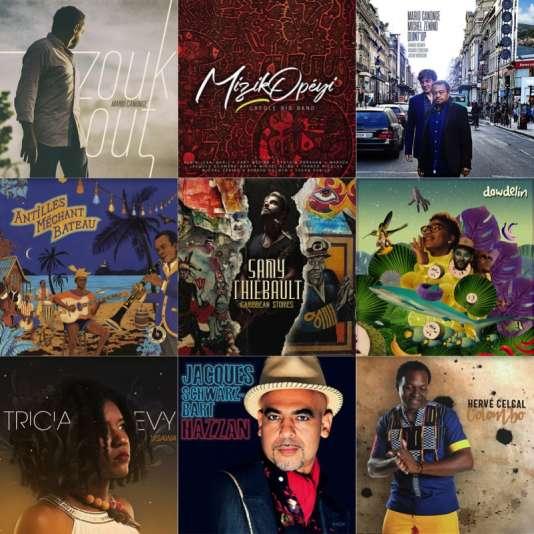 Une sélection d'albums de jazz créole pour 2018, par le blog «Le jazz et la salsa».