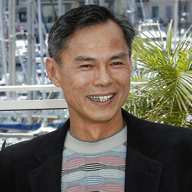 Le réalisateur hongkongais Ringo Lam lors de la projection de son film« Triangle» au 60e Festival de Cannes, en mai 2007.